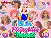 Elsa Moda Printeselor Disney