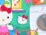 Spala haine cu Hello Kitty
