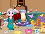 Baby Elsa de facut Curatenie in camera