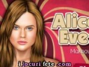 Machiaza o pe Alice Eve
