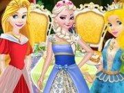 Elsa și Rapunzel in Tara Minunilor