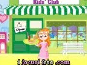 Clubul Copiilor de servit sucuri si prajituri