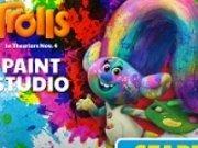 Trolii Mania joc de colorat