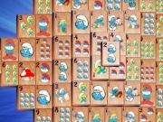 Mahjong pentru copii cu Strumfii
