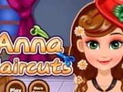 Frozen Anna la coafor