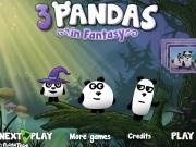 Cei 3 panda in laboratorul vrajitorului