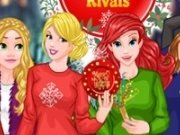 Ariel, Cenusareasa, Elsa, Anna, Jasmine si Rapunzel