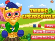 Talking Ginger Dressup