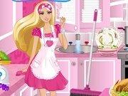 Barbie Curatenie dupa petrecere