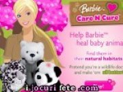 Barbie este veterinar si ingrijeste animalele