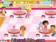 Joc de servit la cofetaria lui Dora