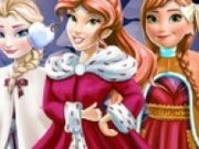Printesa Belle, Elsa si Anna de Christmas