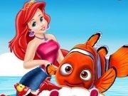 Sirena Ariel si Nemo