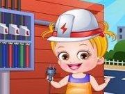 Electrician Baby Hazel