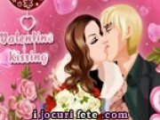 Sarut romantic de Ziua Indragostitior