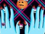 Manichiura pentru Frankie Stein Monster High