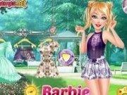Barbie la picnic, plaja si plimbare in oras