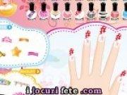 joc pentru fete de facut manichiura