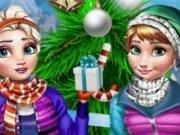Elsa si Anna in vacanta