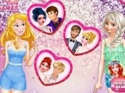 Elsa si Aurora Rochii de mireasa