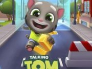Talking Tom aventura de alergat