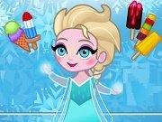 Elsa vinde inghetata in oras