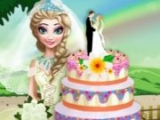 Tort de nunta cu Elsa