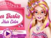 Vopsea de par pentru Super Barbie