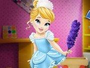 Baby Cinderella Curatenie in casa