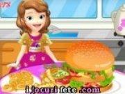 Sofia Intai gateste hamburgeri