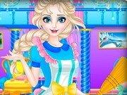 Curatenie regala cu printesa Elsa