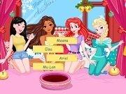 Moana, MuLan, Elsa si Ariel de Secret Santa