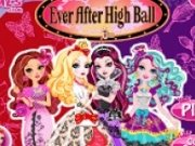 Rochii de bal pentru printesele Ever After High
