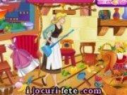 Joc de facut curatenie in casa printesei Cinderella