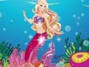 Coada de sirena pentru Barbie