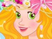 Coronita de flori pentru Rapunzel