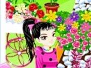 Decor in Gradina cu flori