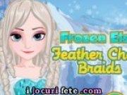 Elsa se coafeaza
