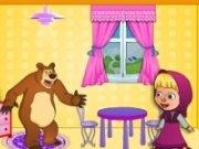 Casa papusilor cu Masha si ursul
