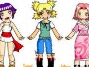 Fetele Naruto de imbracat