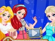 Printesele Elsa, Rapunzel si Ariel la film