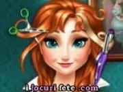 Joc de tuns parul printesei Anna din Frozen