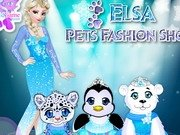 Show Fashion cu animalele lui Elsa