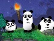 Aventura celor 3 panda in miezul noptii