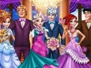 3 cupluri Disney la bal